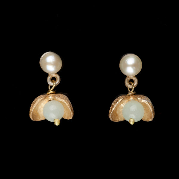 Itty Bitty Shells Earrings - Post