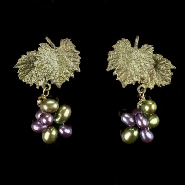 Grape Vines Earrings - Post