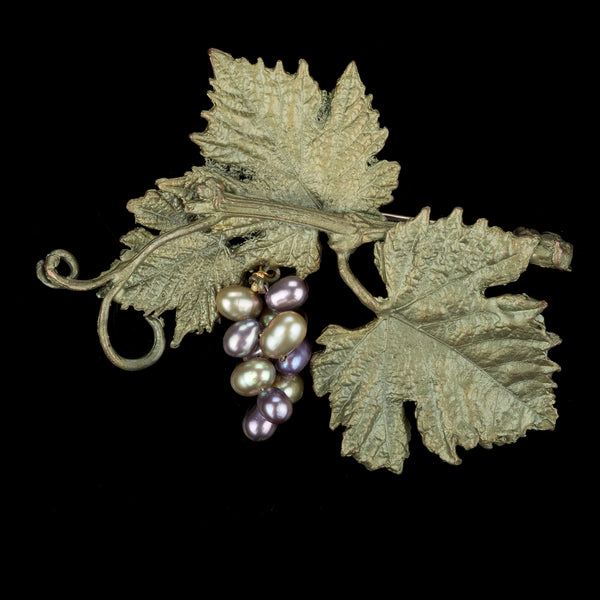 Grape Vines Brooch