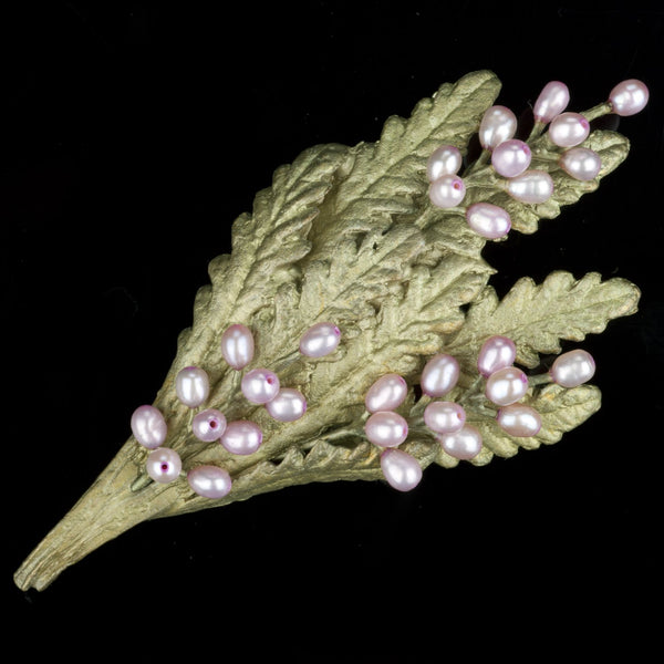 French Lavender Brooch