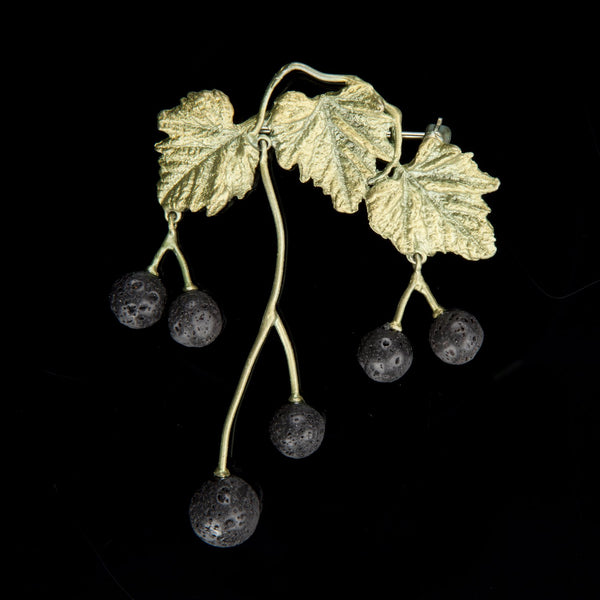 Blackcurrant Brooch