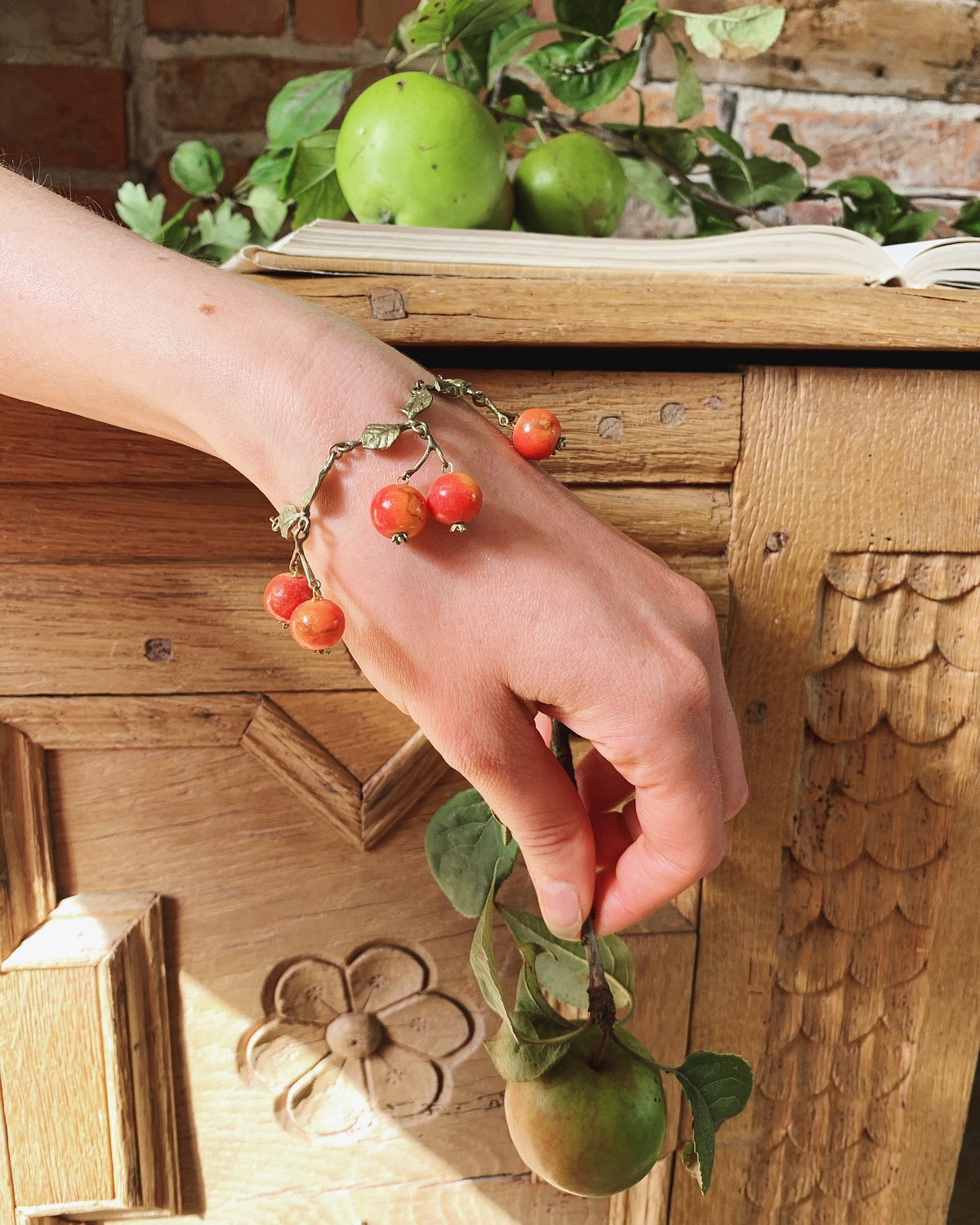 Crab Apple Drops Bracelet