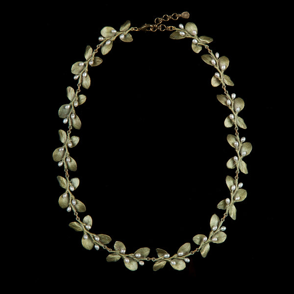 Irish Thorn Necklace - Leaves
