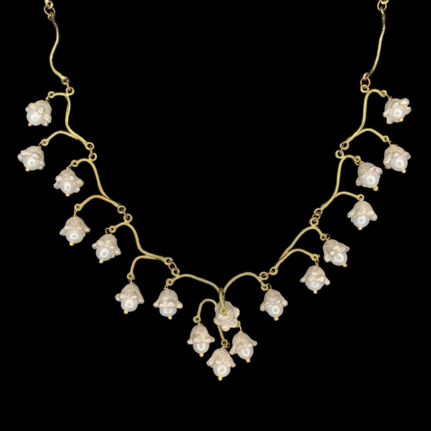 Lily of the Valley Necklace - Flowers