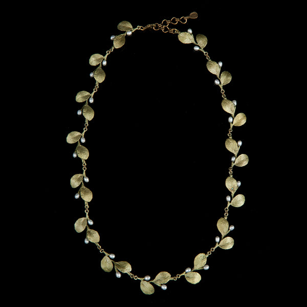 Irish Thorn Necklace - Tailored Leaves