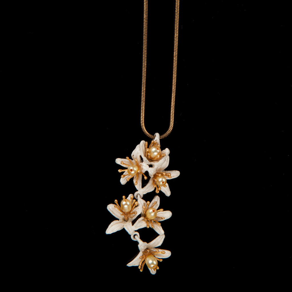 Orange Blossom Pendant - Flower Shower