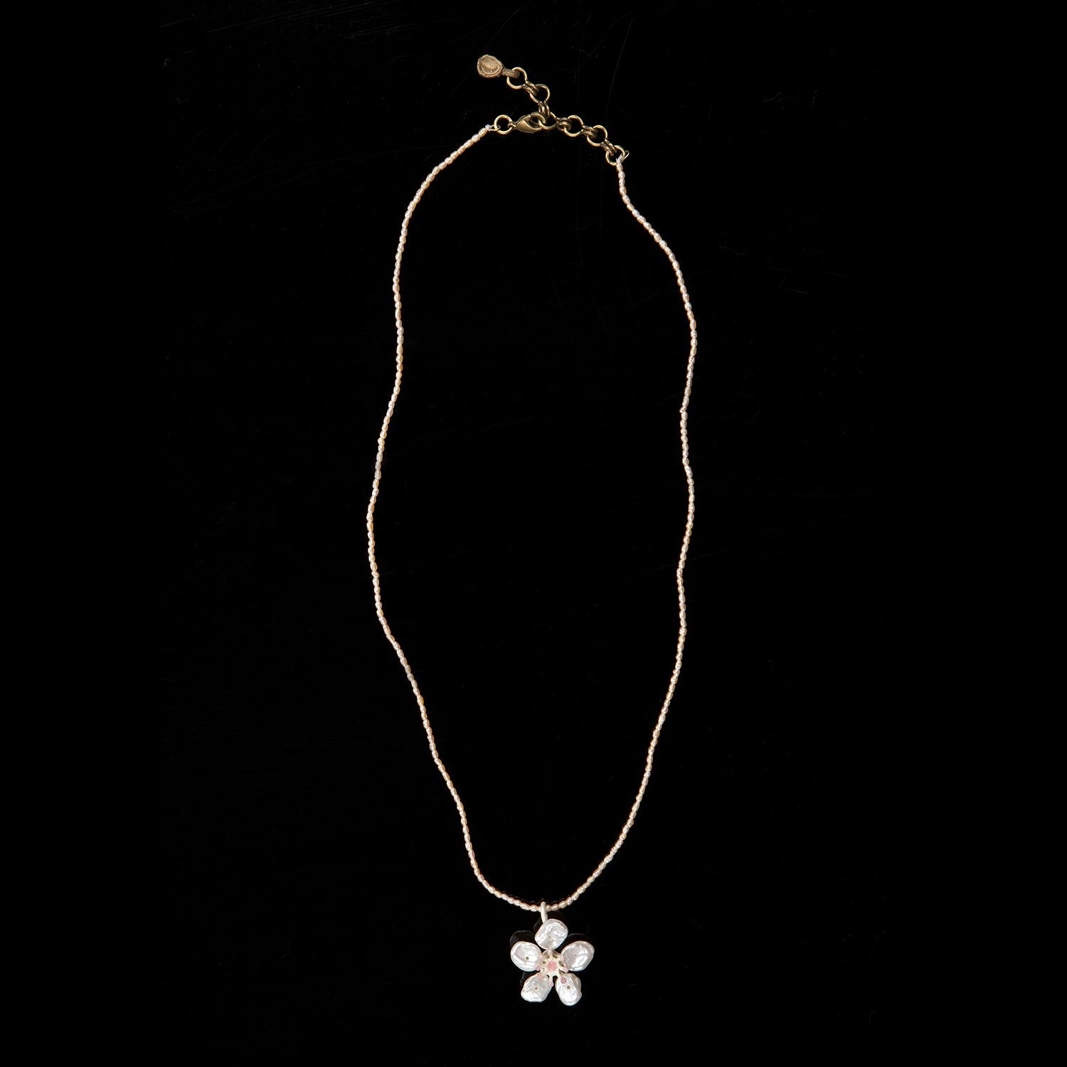 Cherry Blossom Pendant - Single Flower