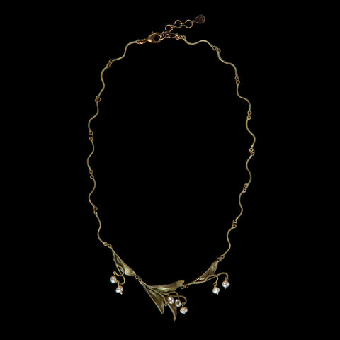 Lily of the Valley Necklace - Twigs