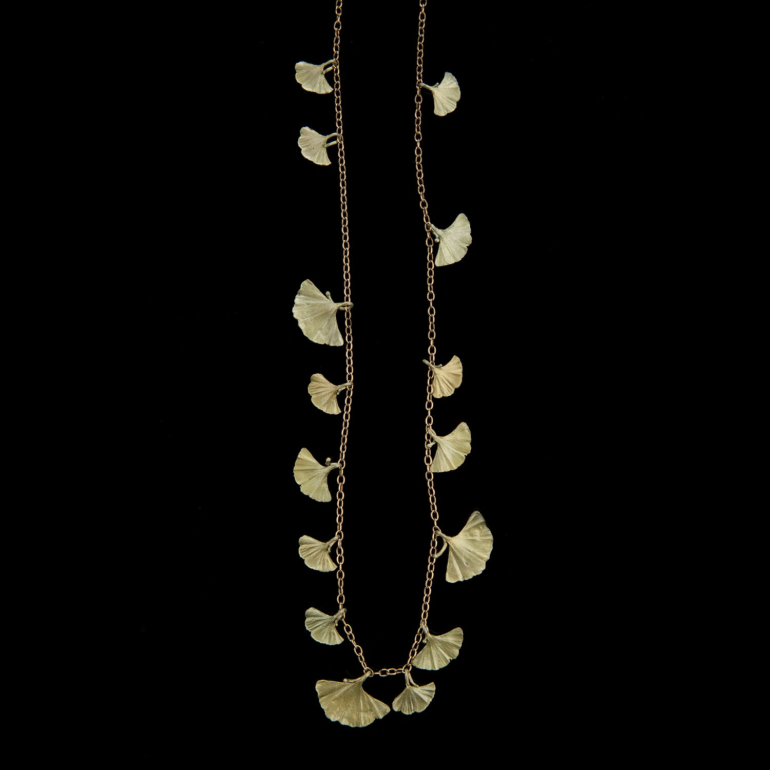 Ginkgo Necklace - Long