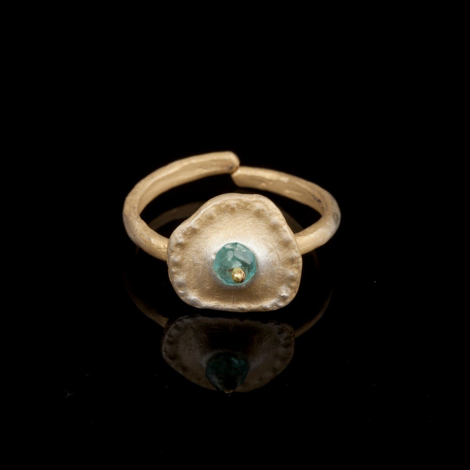 Sea Urchin Single Ring - Apatite