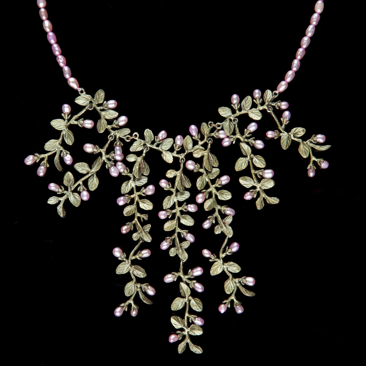 Thyme Necklace - Pearl Contour
