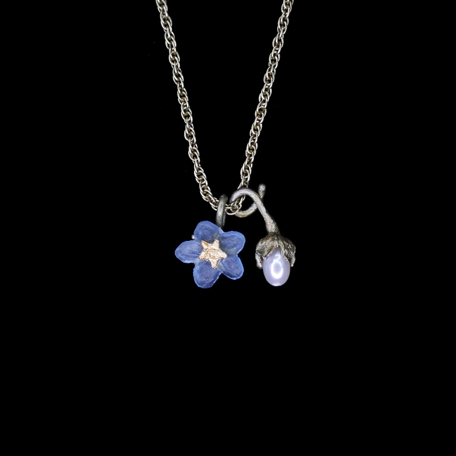 Forget Me Not Pendant - Petite Flower