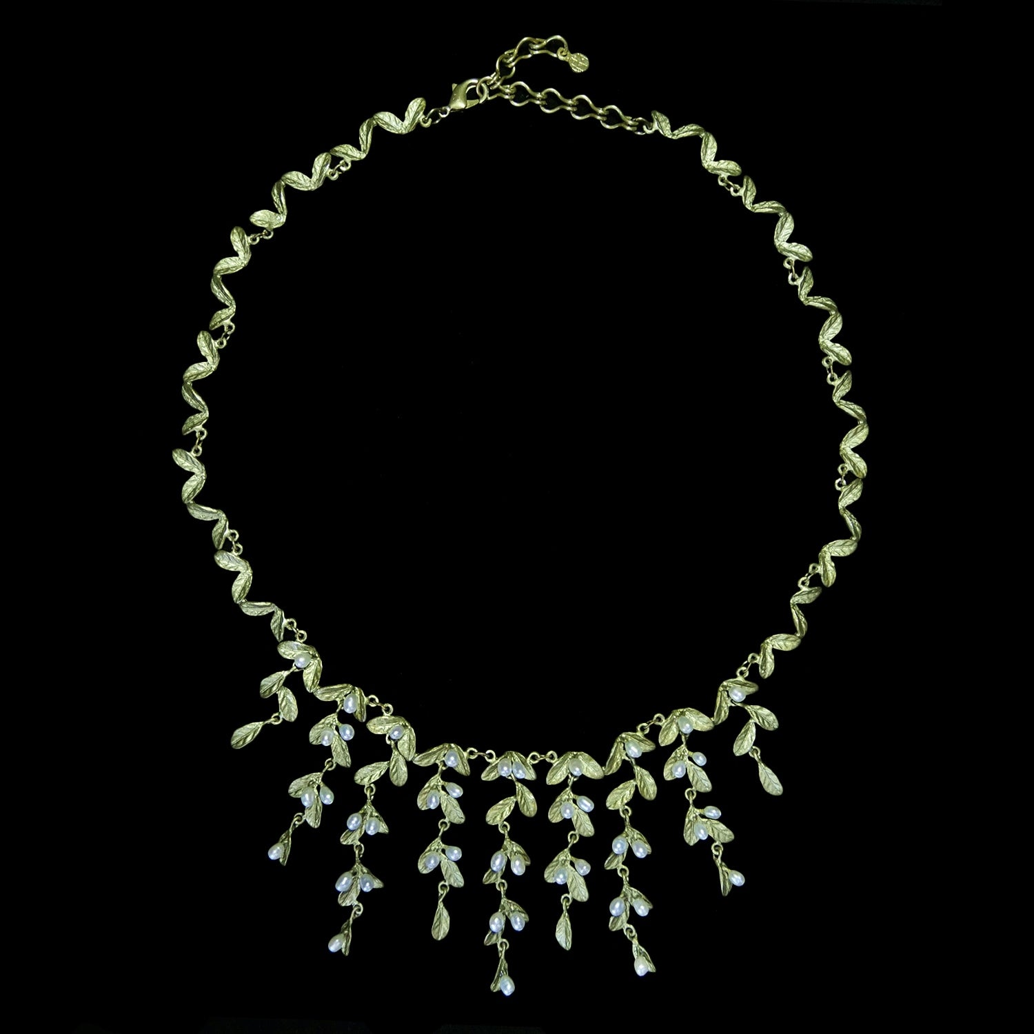 Petite Leaf Necklace - Statement