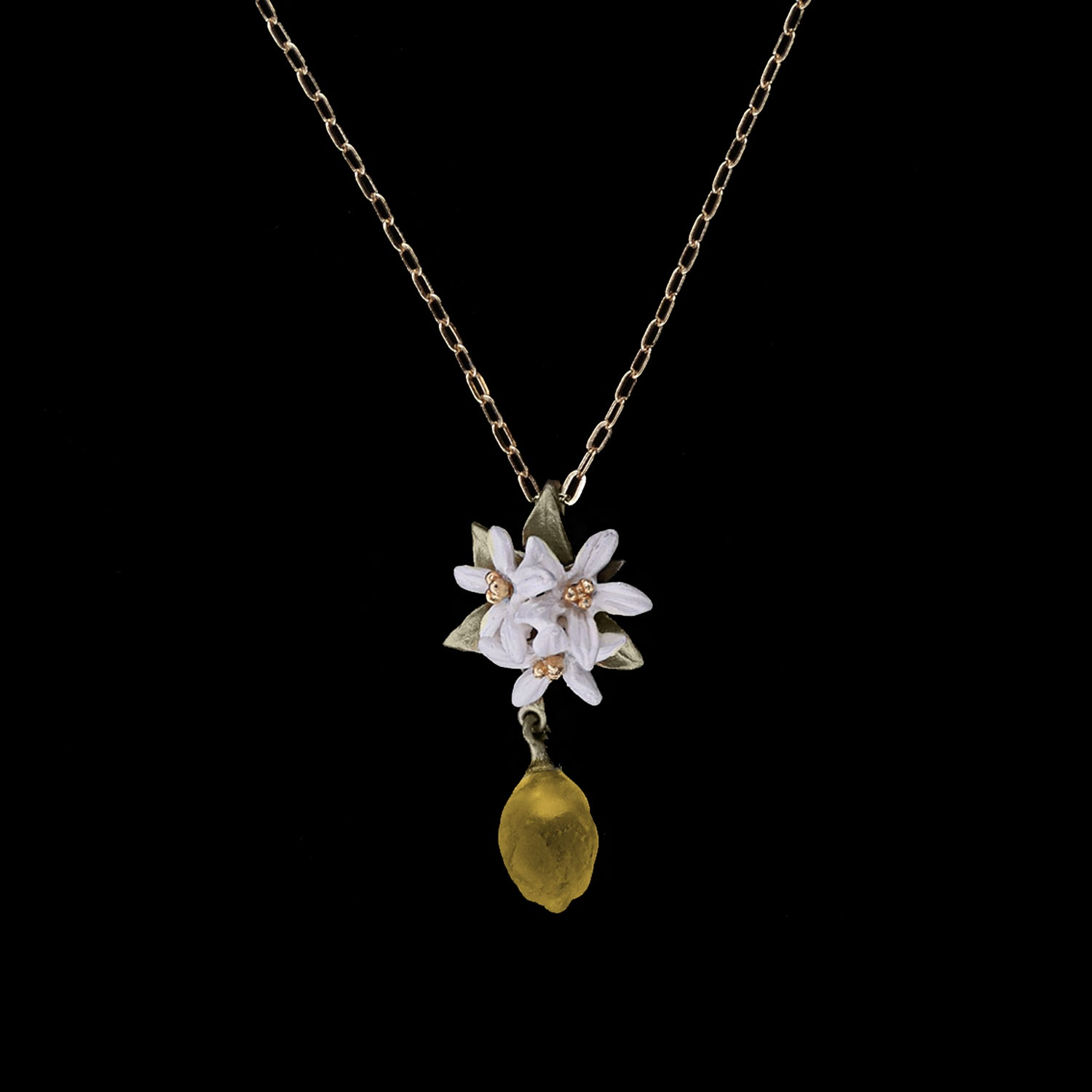 Lemon Drop Pendant - Flower
