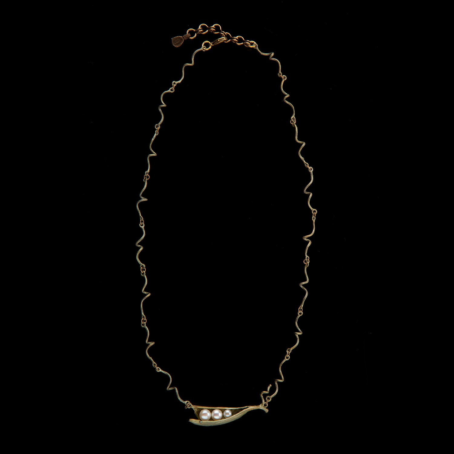 Pea Pod Necklace - Twigs