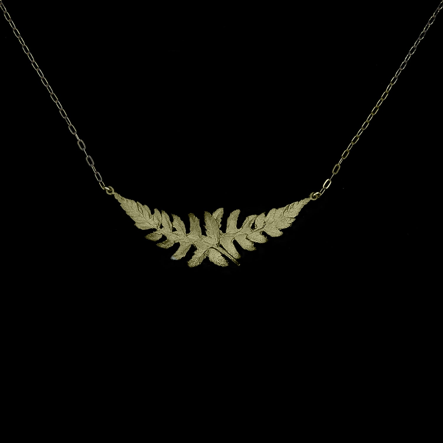 Fern Necklace - Dainty