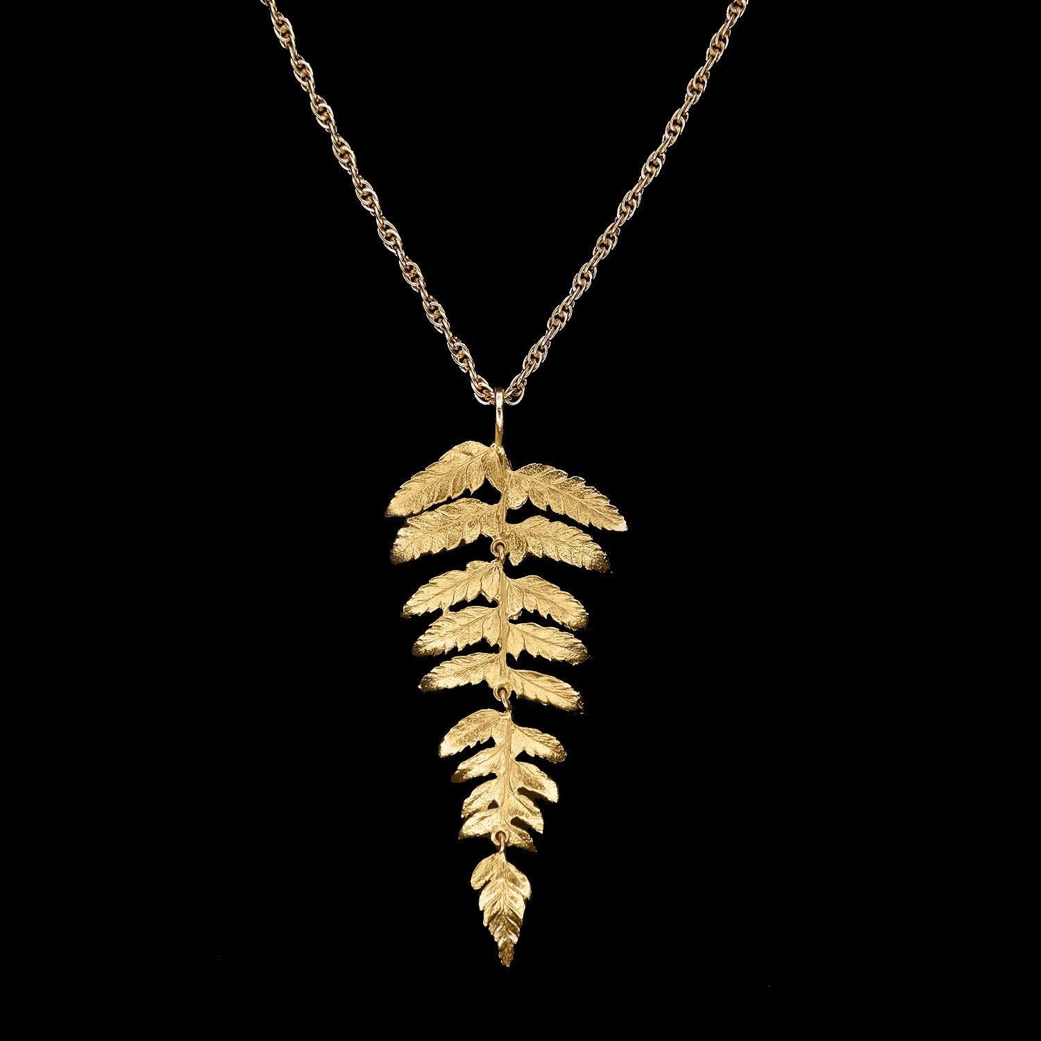 Fern Long Necklace