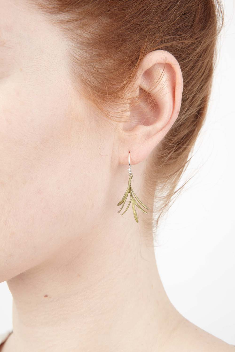 Petite Herb - Rosemary Wire Earring