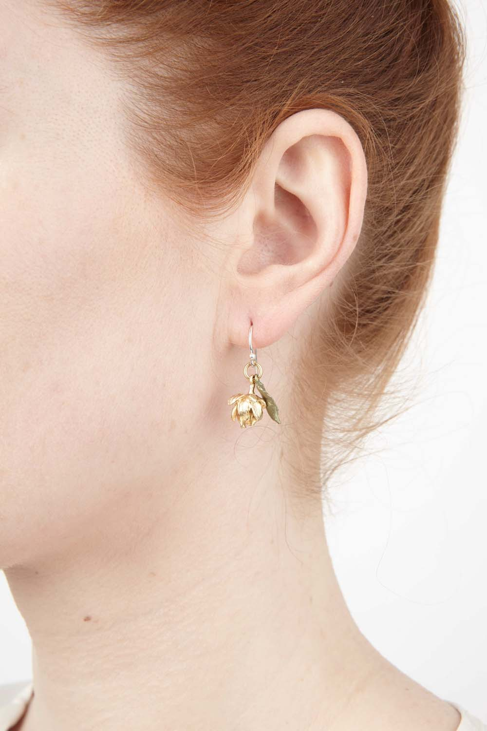 Hops Earrings - Petite Wire