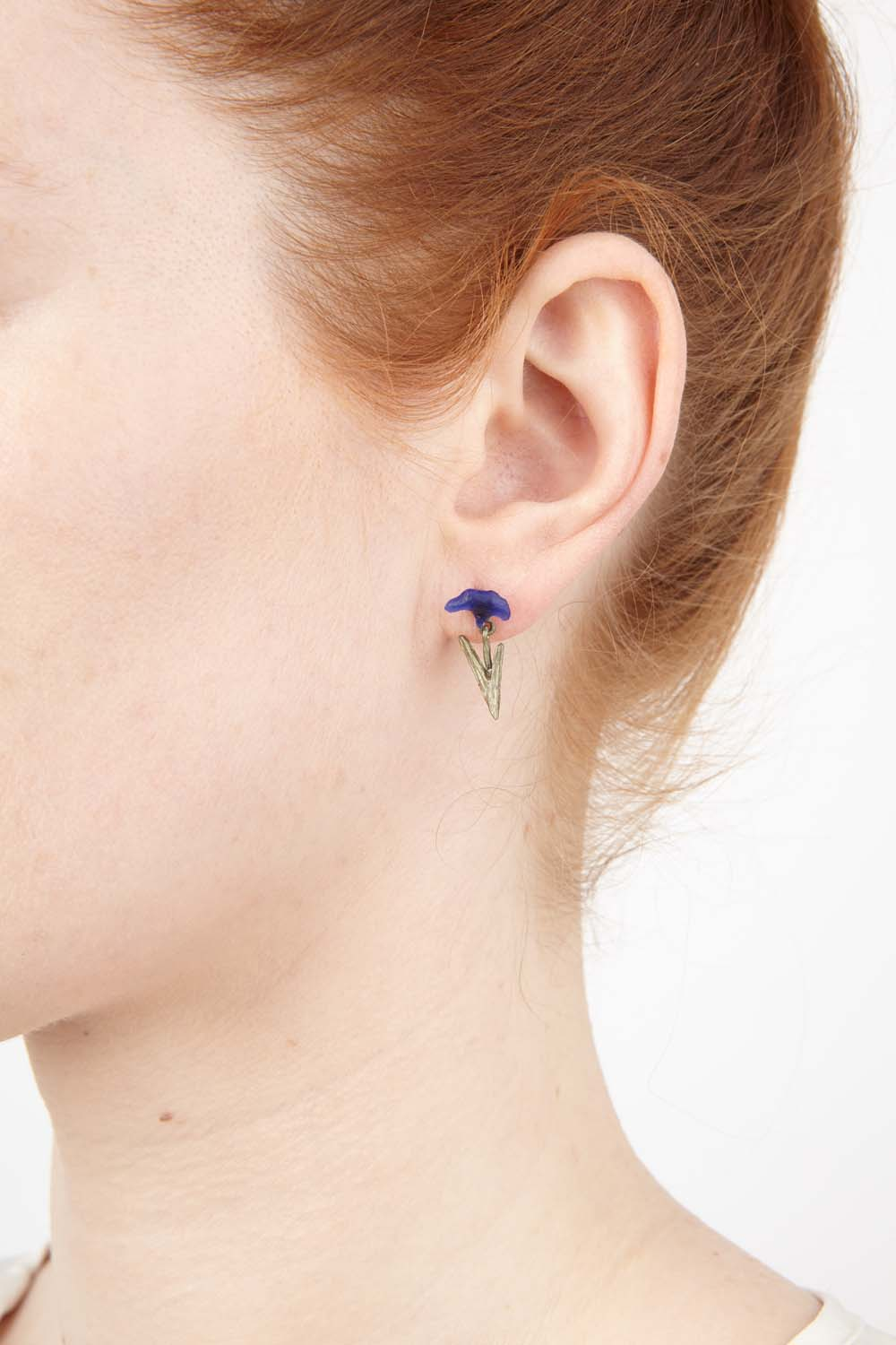 Van Gogh Irises Earrings - Post