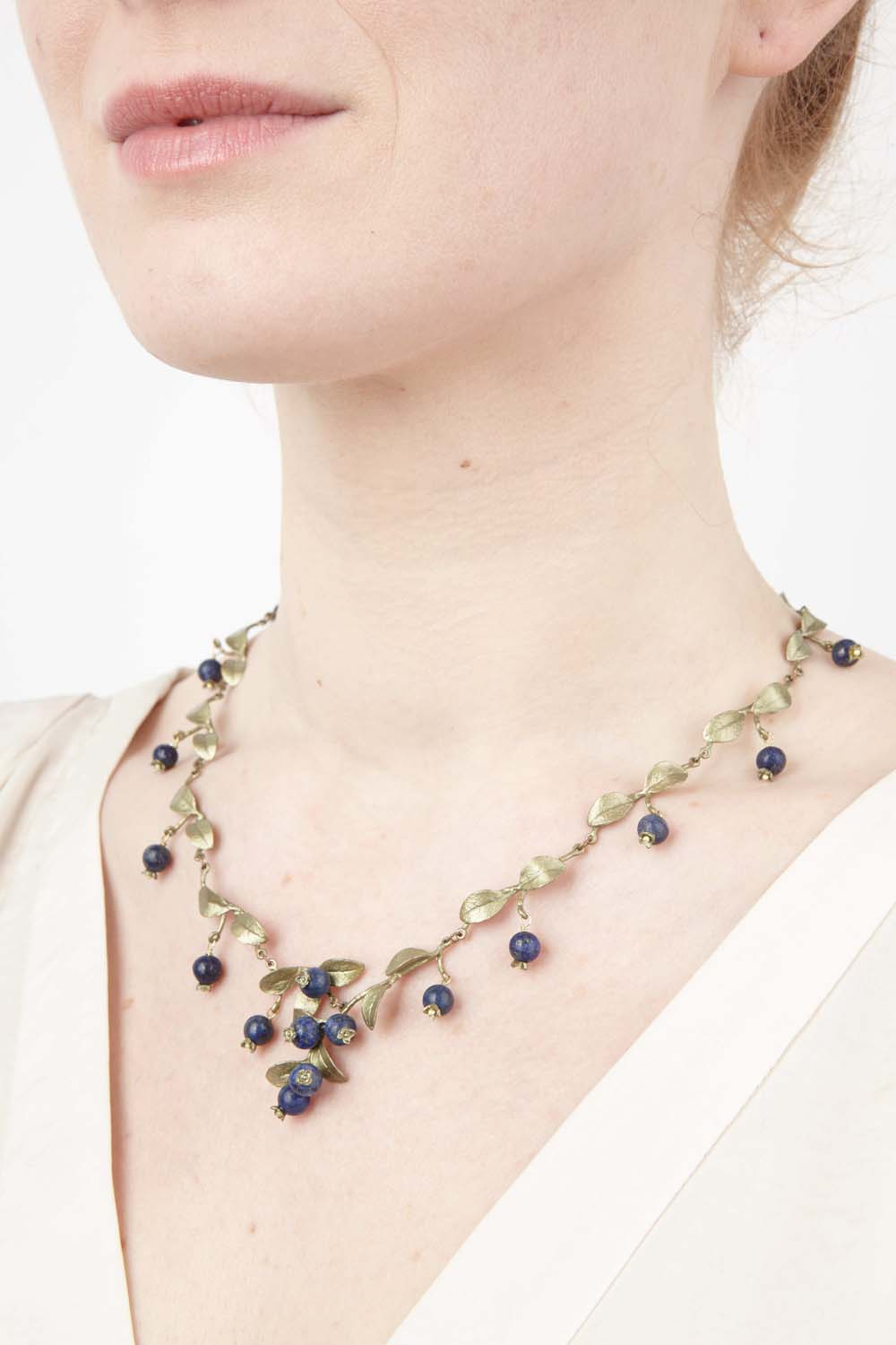 Blueberry Necklace - Cluster