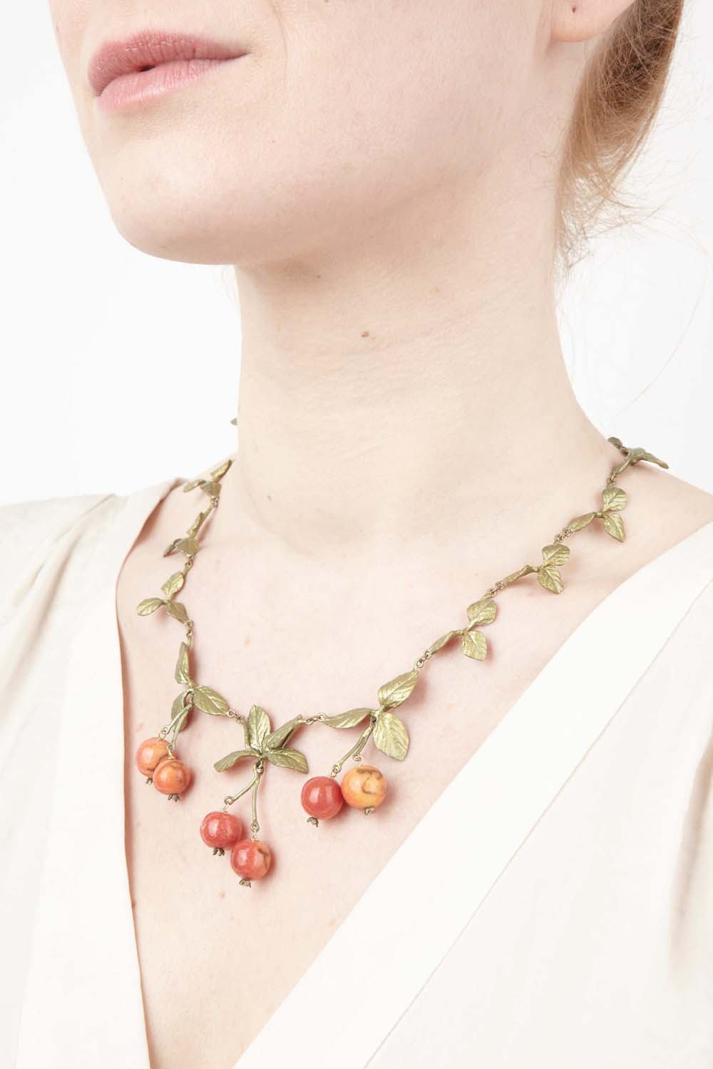 Crab Apple Necklace