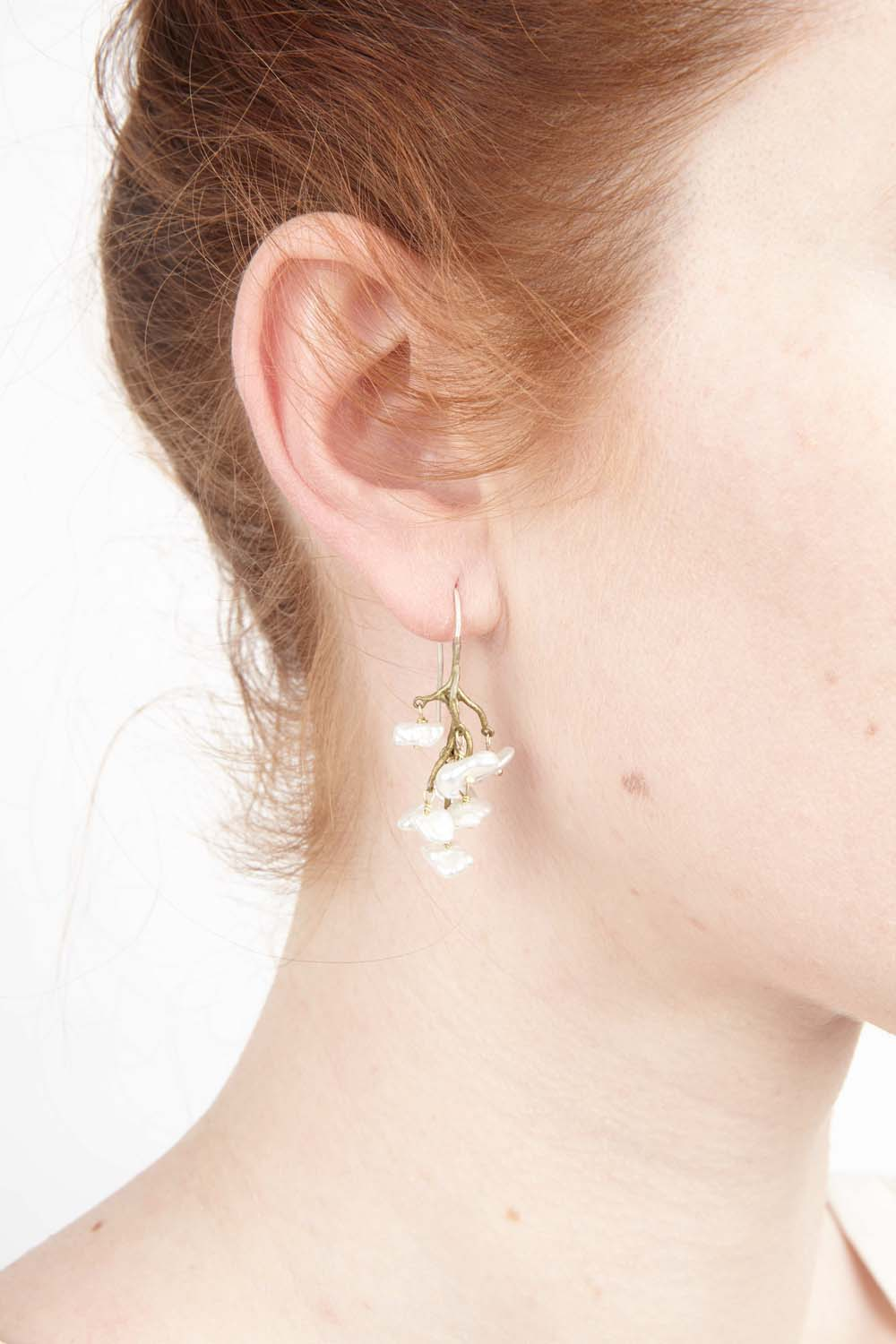 Lily of the Valley Earrings - Wire Drop