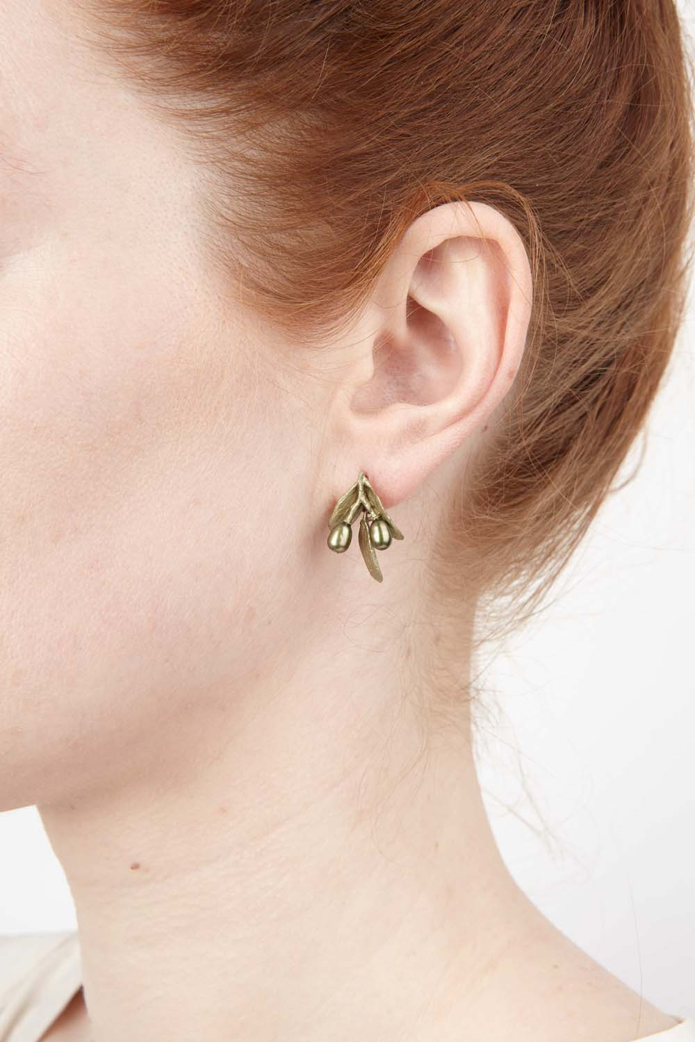 Olive Earrings - Post