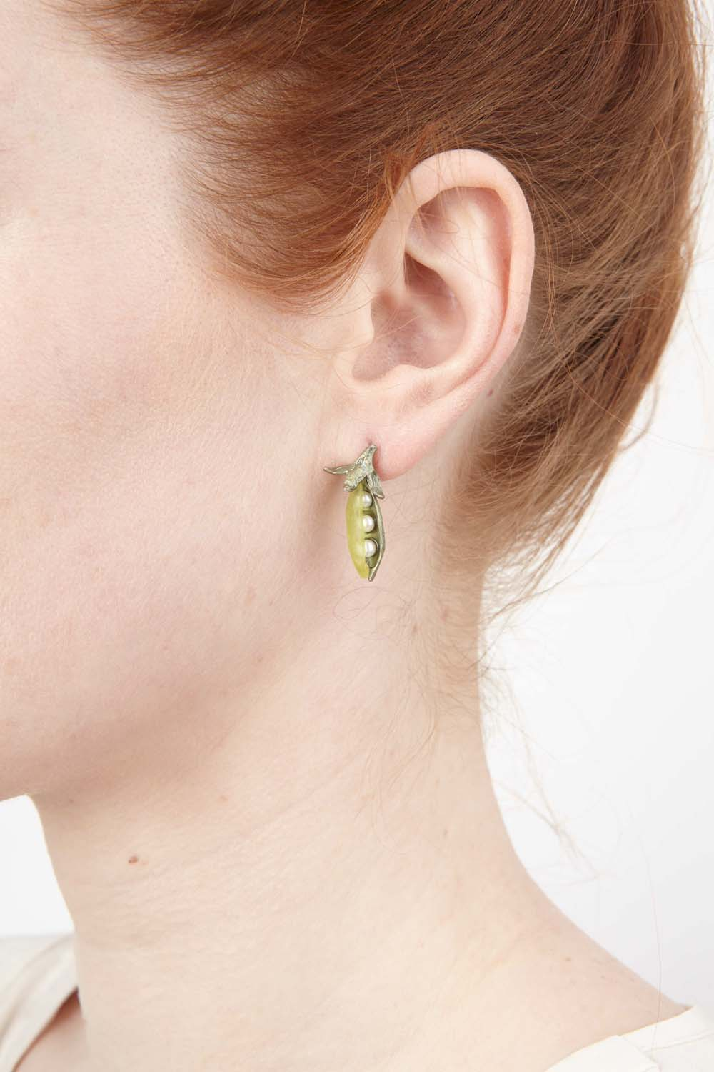 Sweet Pea Earrings - Petite Post