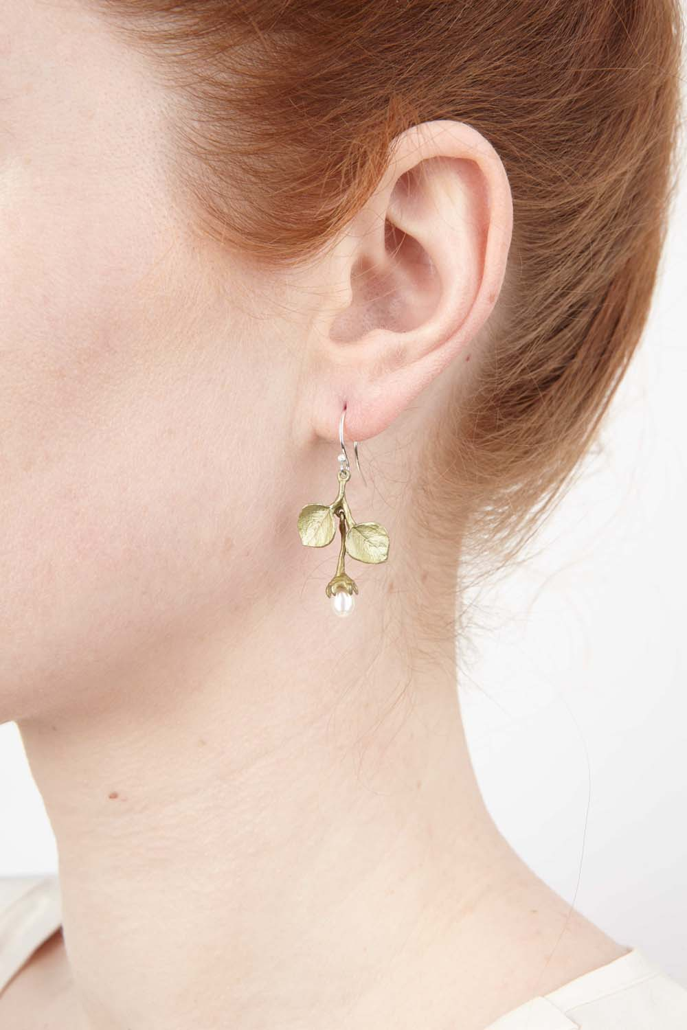 Survivor Tree Earrings - Leaf Wire Drop