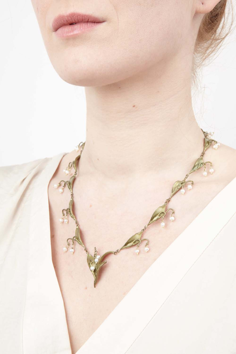 Lily of the Valley Necklace - Collier