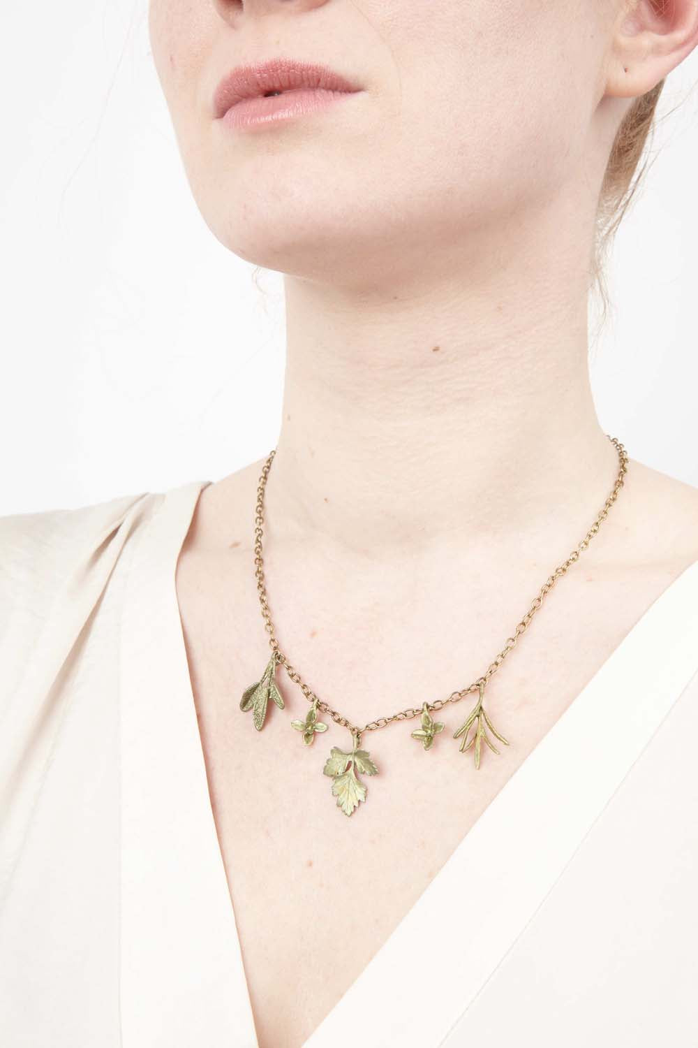 Petite Herb Charm Necklace