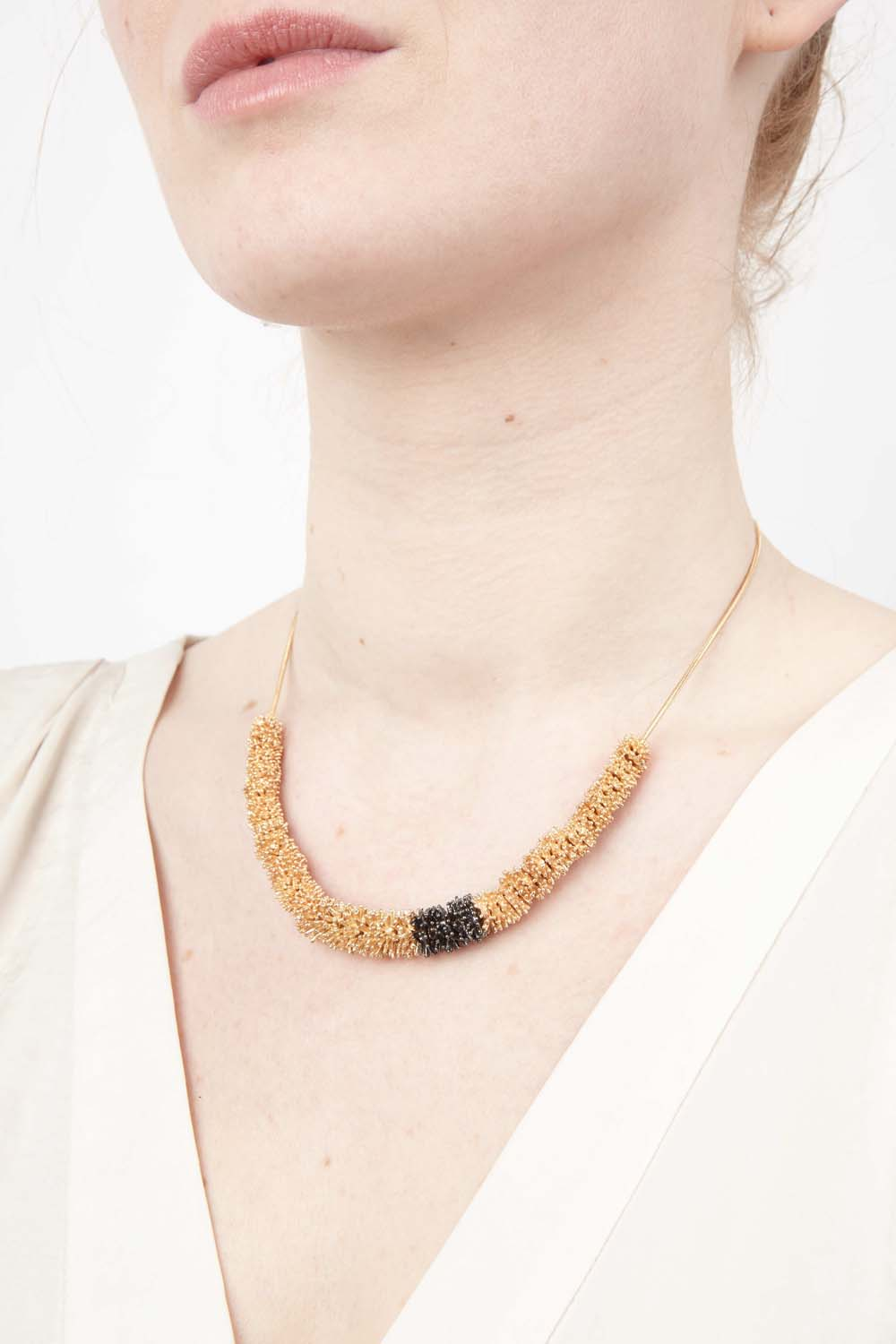 Gone To Seed Necklace - Two Tone