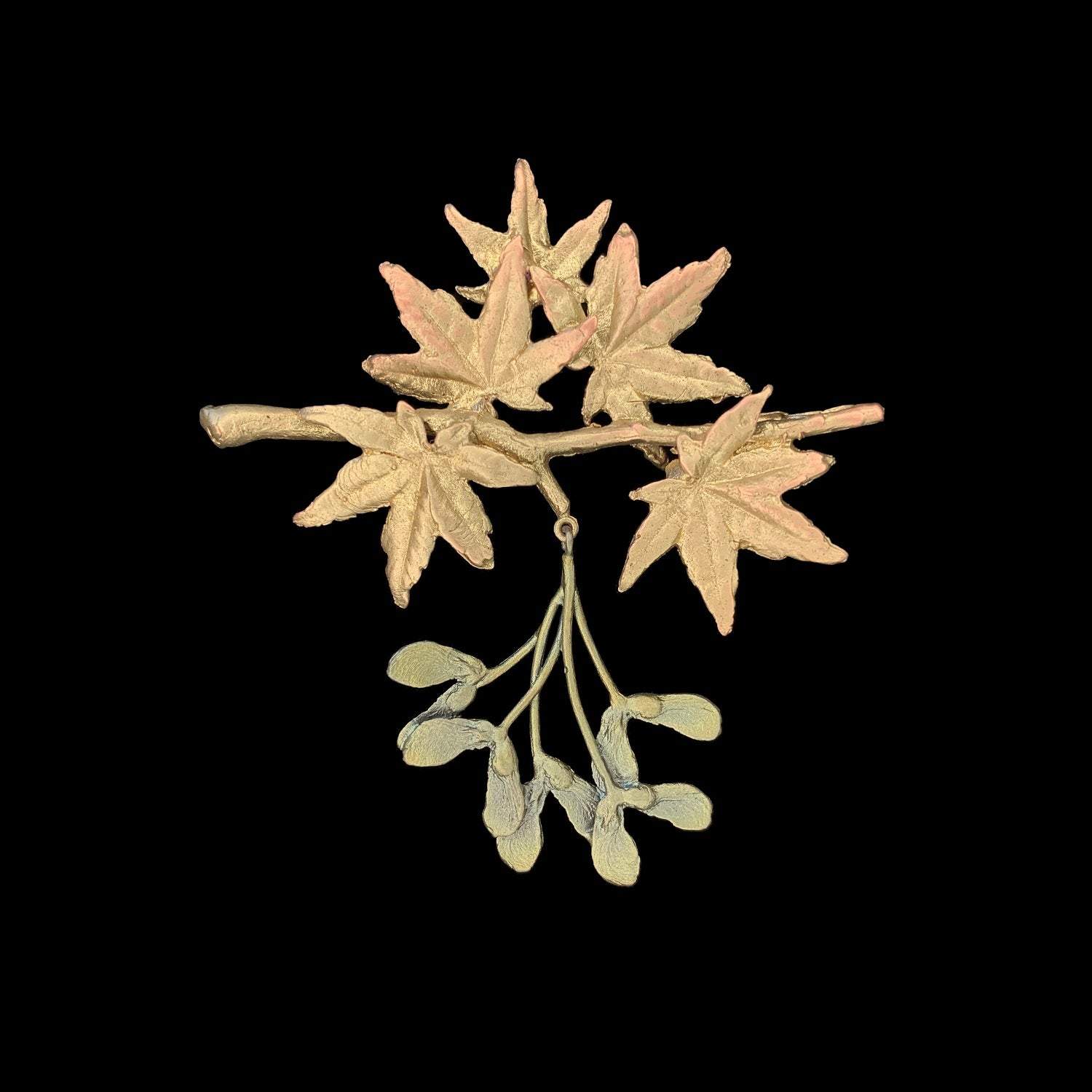 Japanese Maple Brooch - Statement