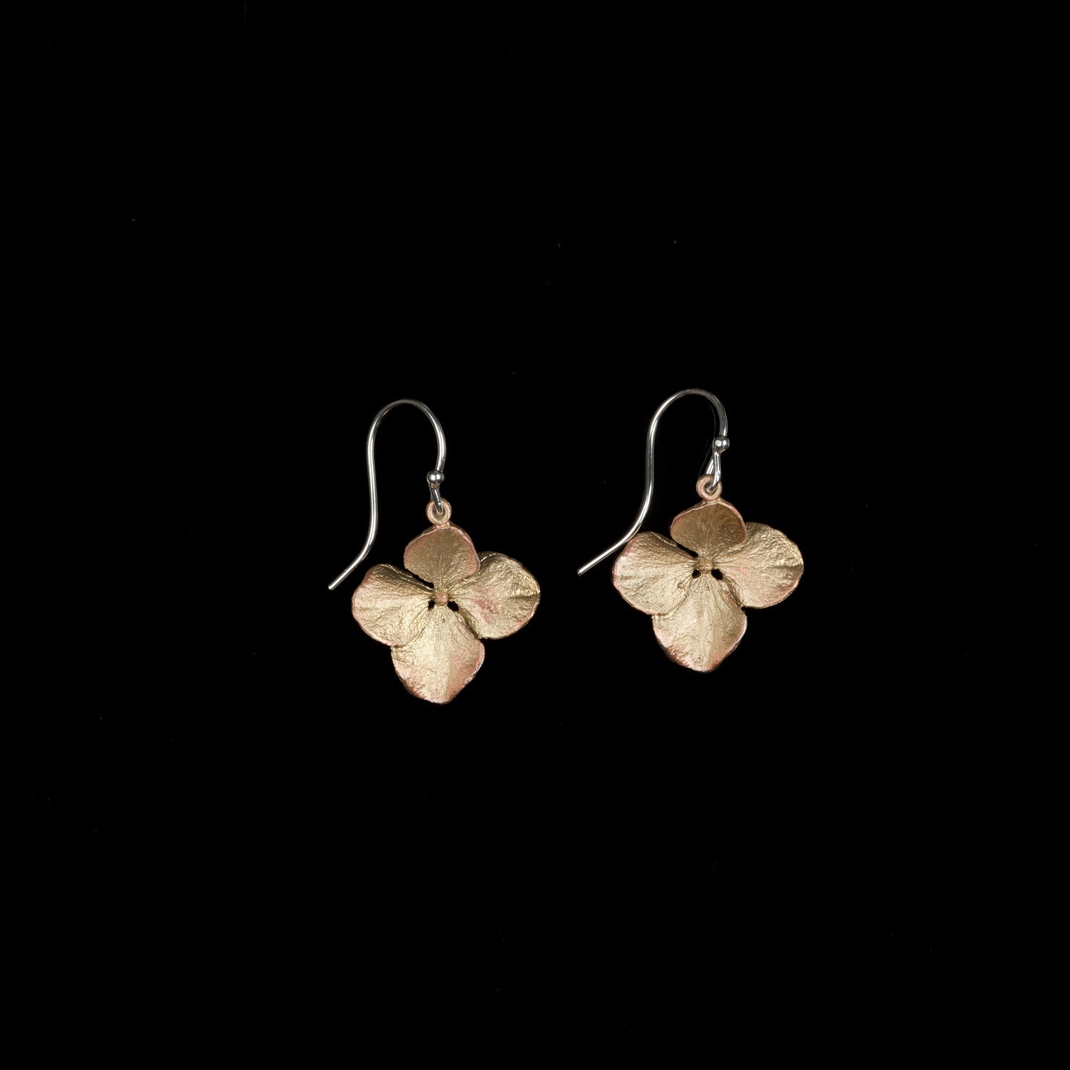 Hydrangea Earrings - Petal Wire Drop