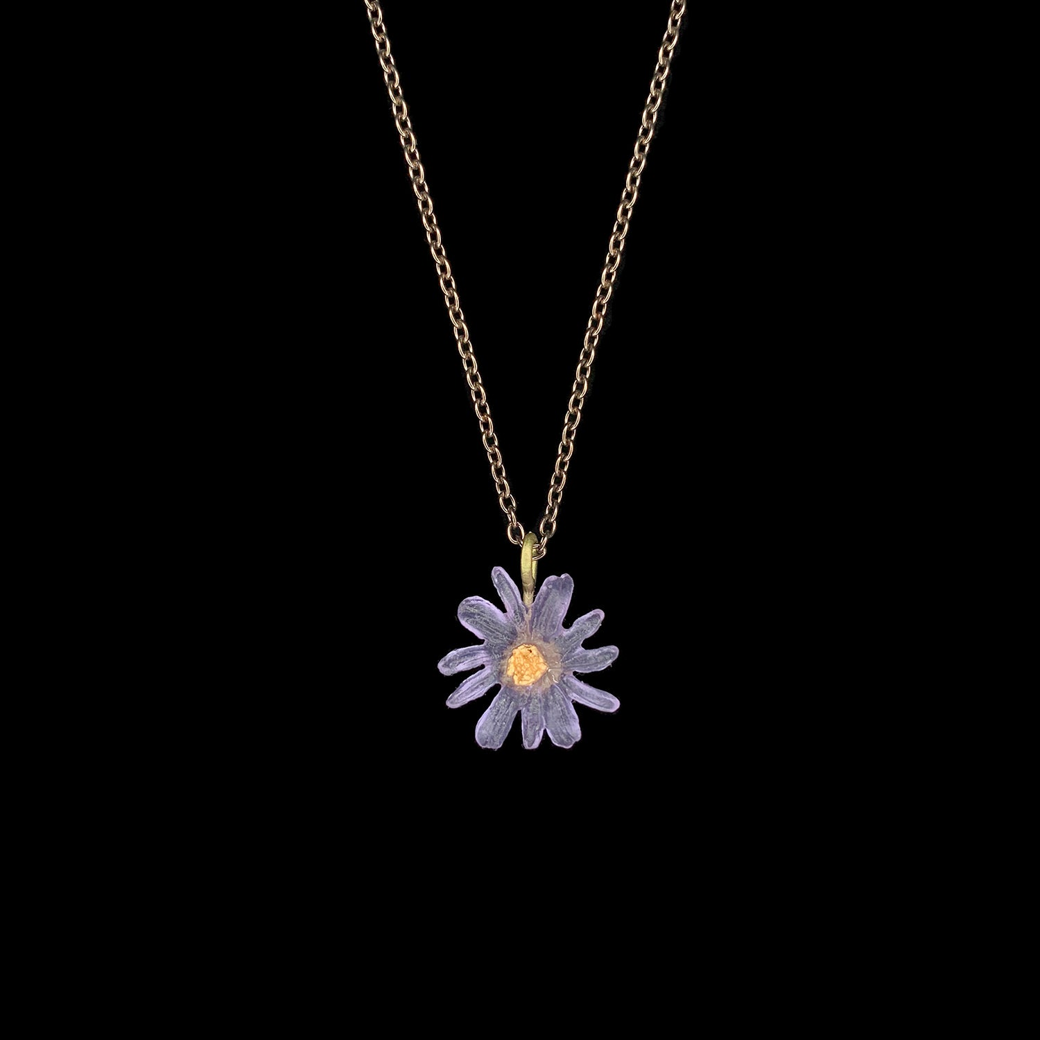 Aster Pendant - Single Flower