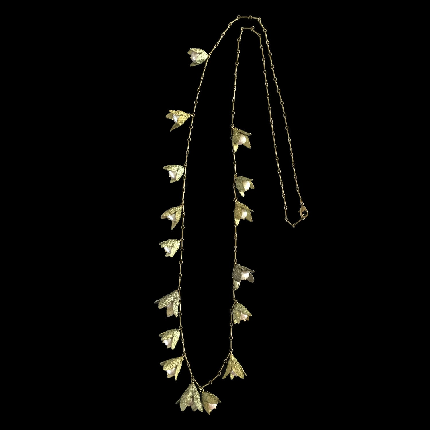 "Beech Nut Necklace - 36"" Long"