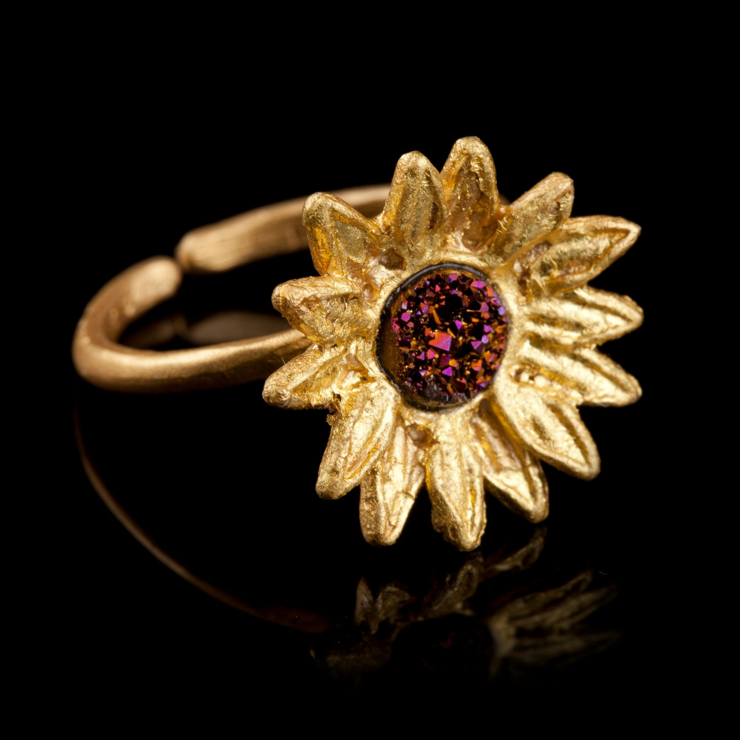 Sunflower Ring - Small