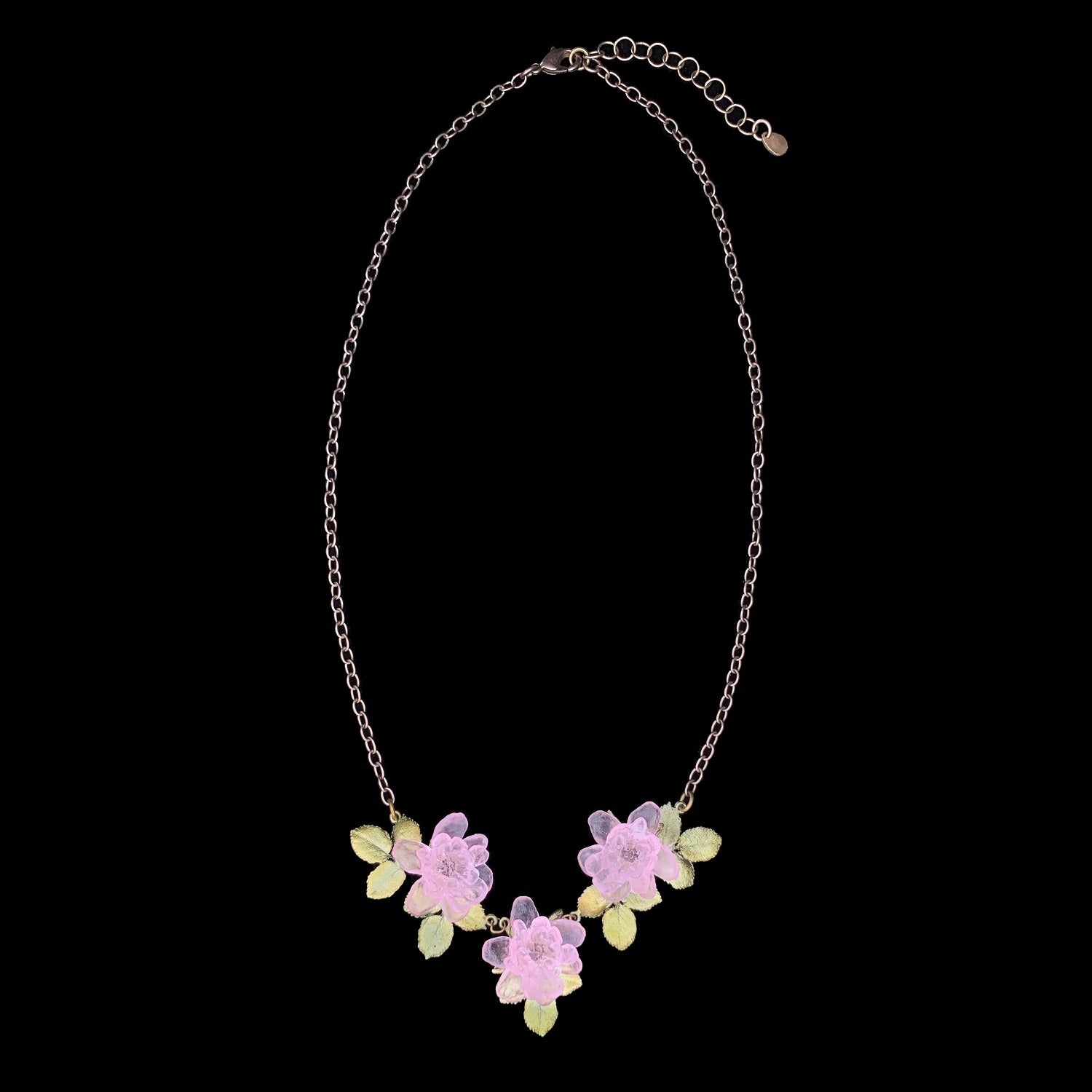Blushing Rose Necklace - Statement