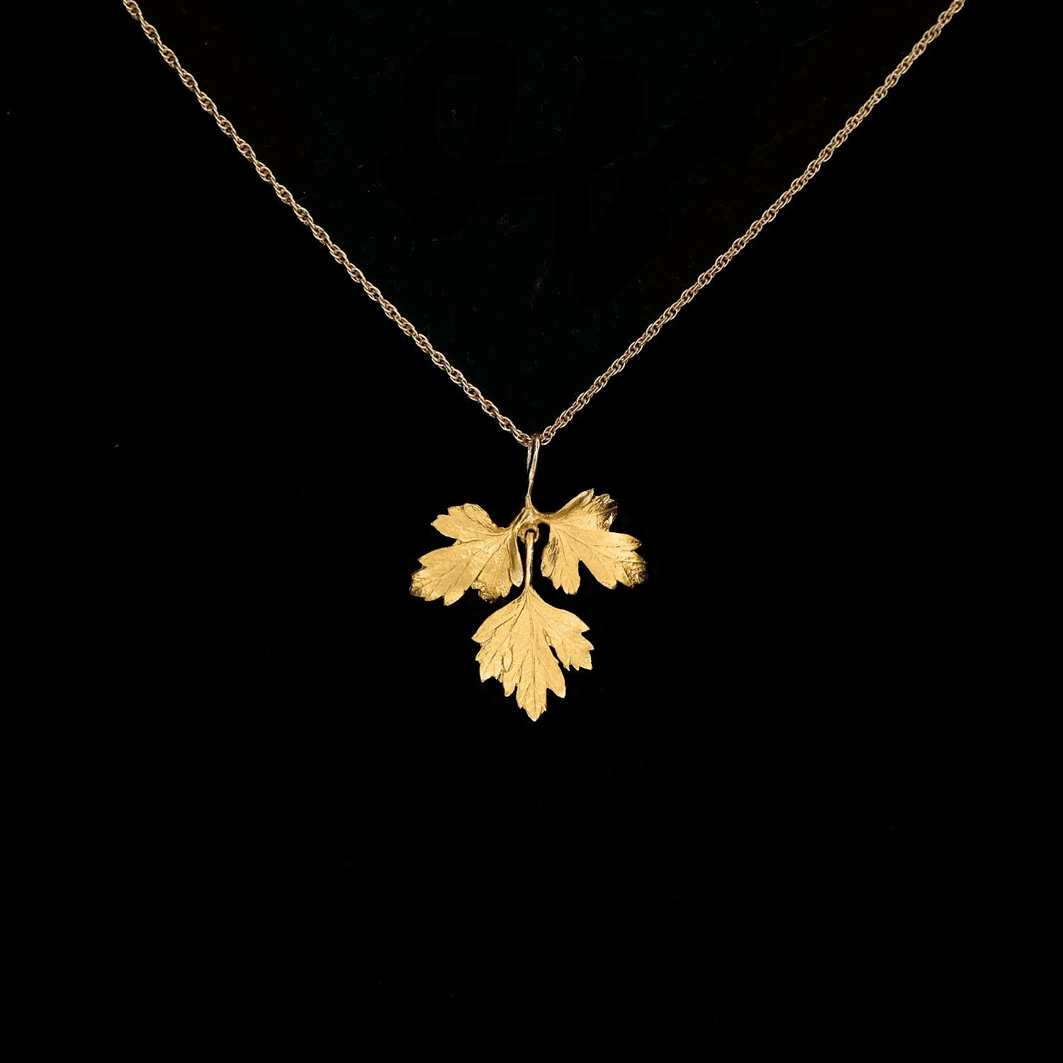 Fine Parsley Pendant
