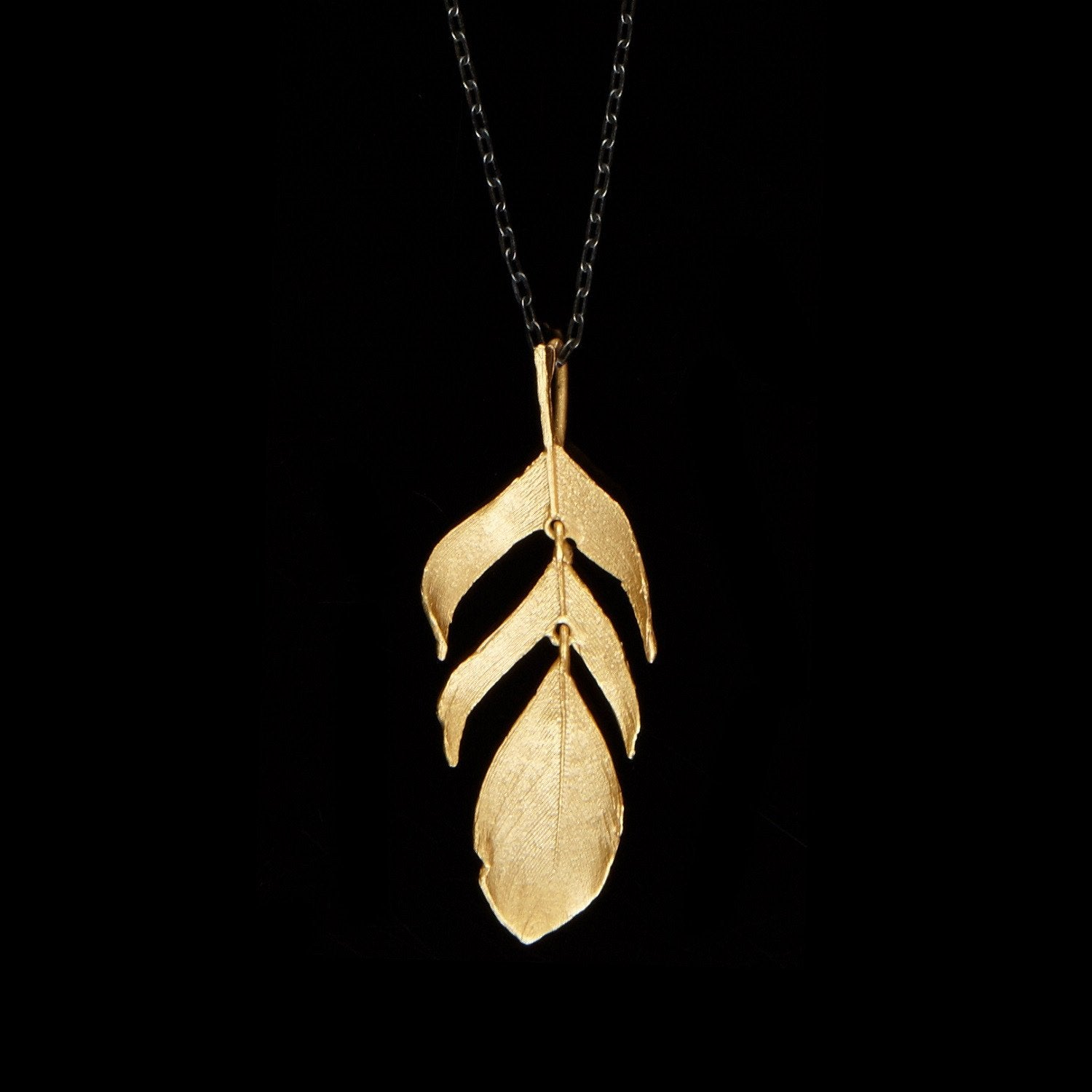Feather Pendant - 20