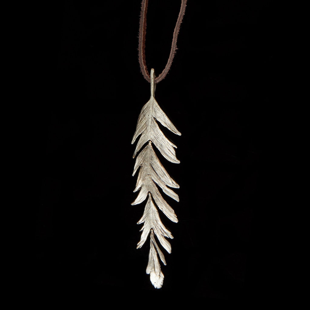 Feather Pendant - 36