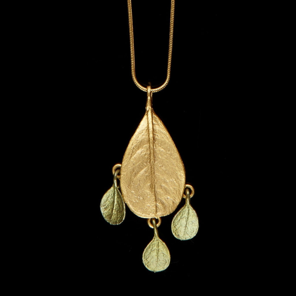 Bahamian Bay Pendant - Gold/Patina