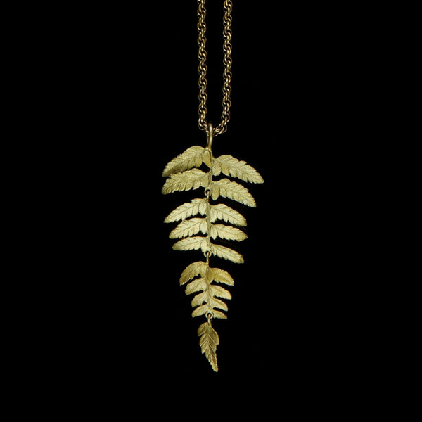 "Fern Necklace - 30"" Long"