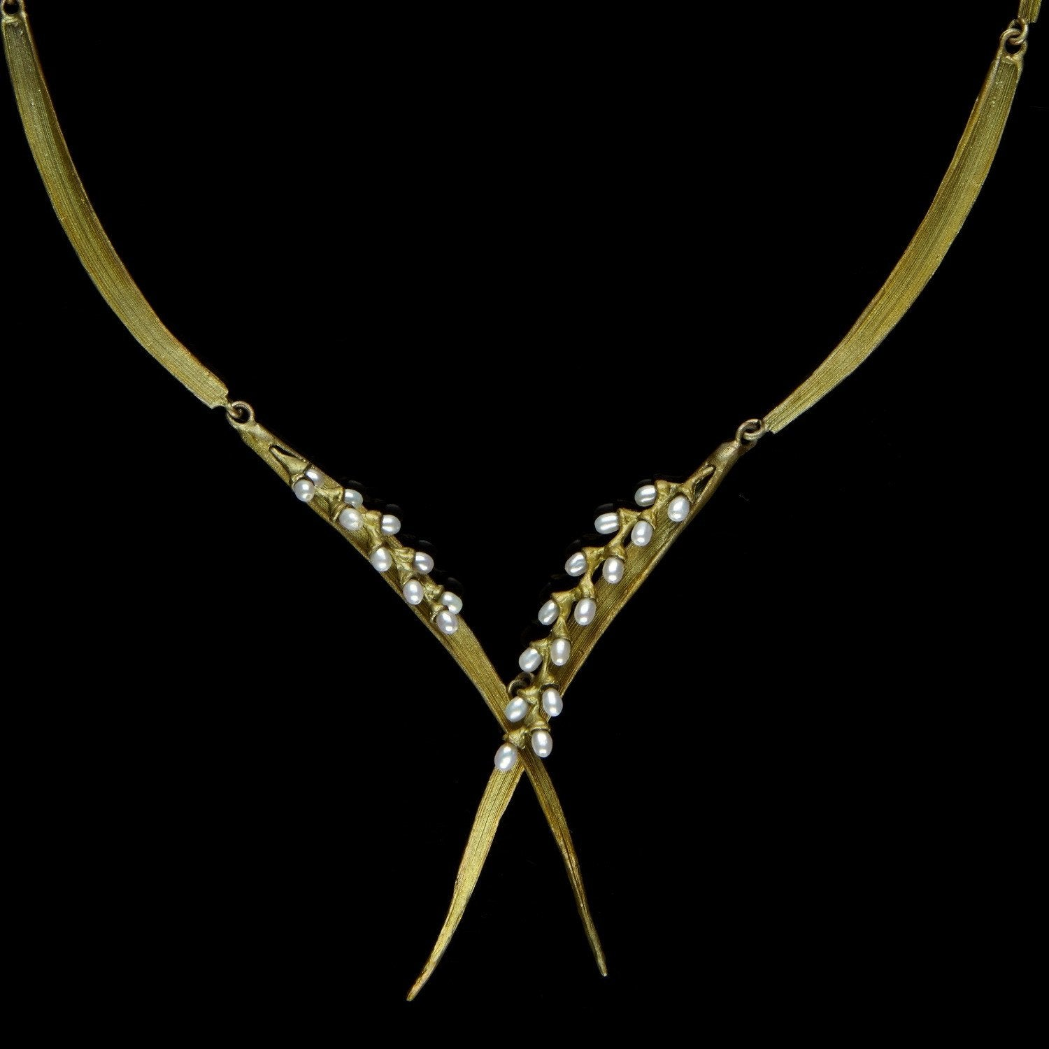 "Rice Necklace - 20"" Contour"
