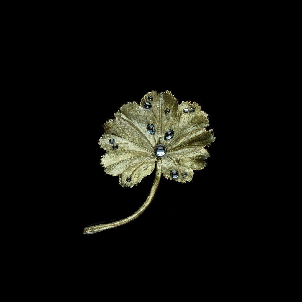 Lady's Mantle Brooch