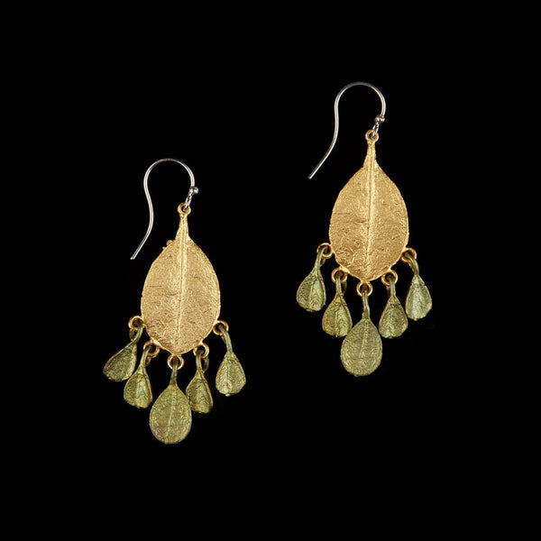 Bahamian Bay Earring - Multi Dangle Wire Gold/Patina