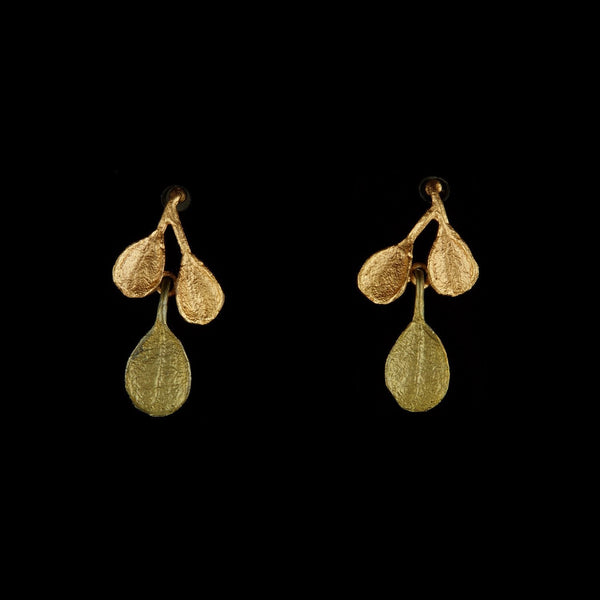 Bahamian Bay Earring - Post Gold/Patina