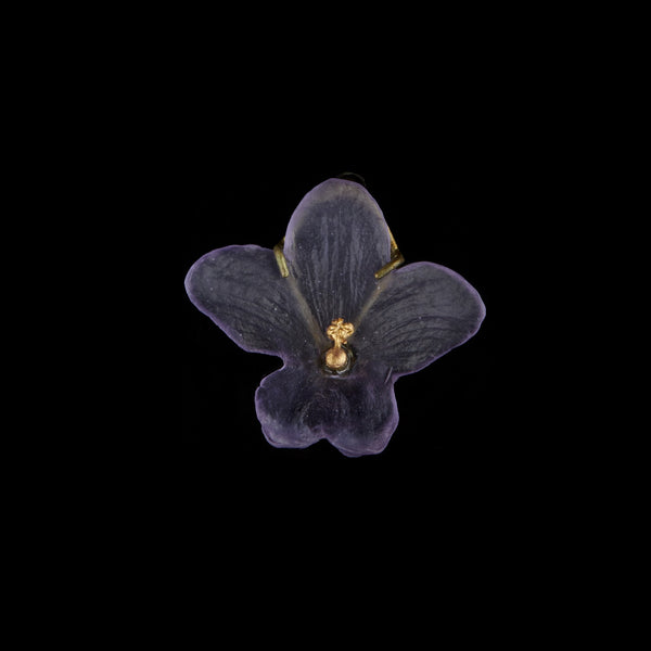 African Violet Pin