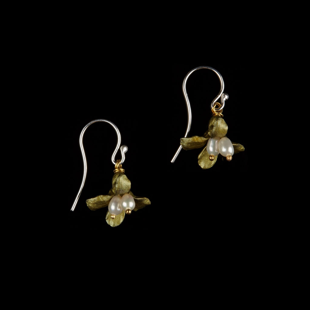 Wildflower Earrings - Single Drop Wire